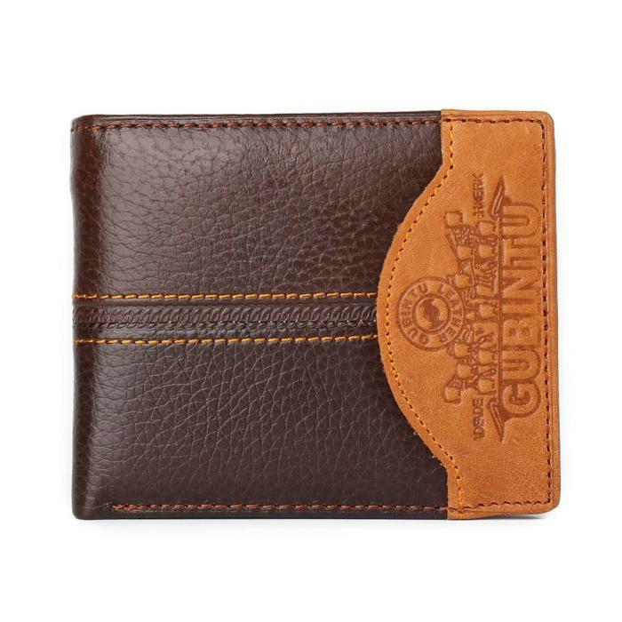 Pánská elegantní kožená peněženka