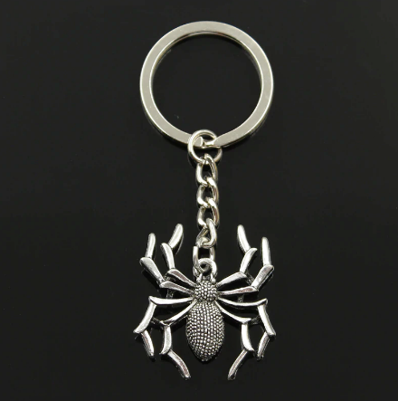 Přívěšek na klíče Pavouk