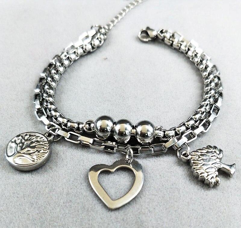 Náramek Strom života, náramek pro ženy, chirurgická ocel, originální šperky