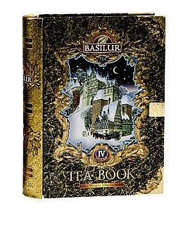 BASILUR Tea Book IV. Black plech 100g