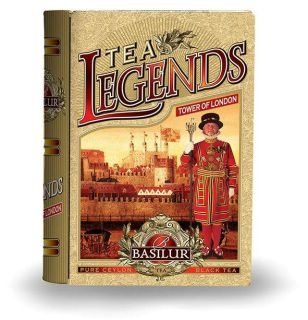BASILUR Book Legends Tower of London plech 100g