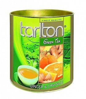 TARLTON Green Ginger & Orange dóza 100g
